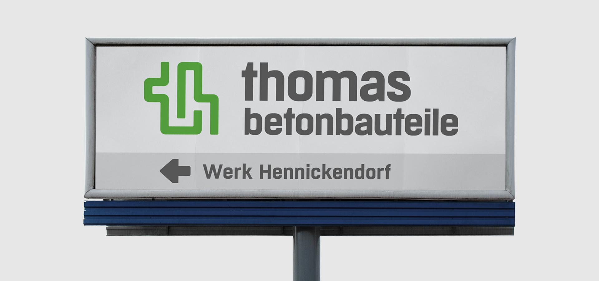 OPUS Marketing / thomas Gruppe / Standort-Branding
