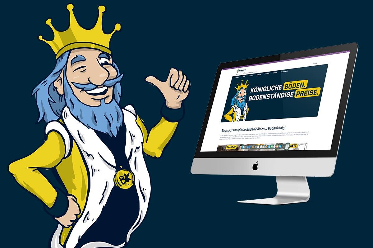 OPUS Marketing / Blog / Der Bodenkönig Bodenoutlet