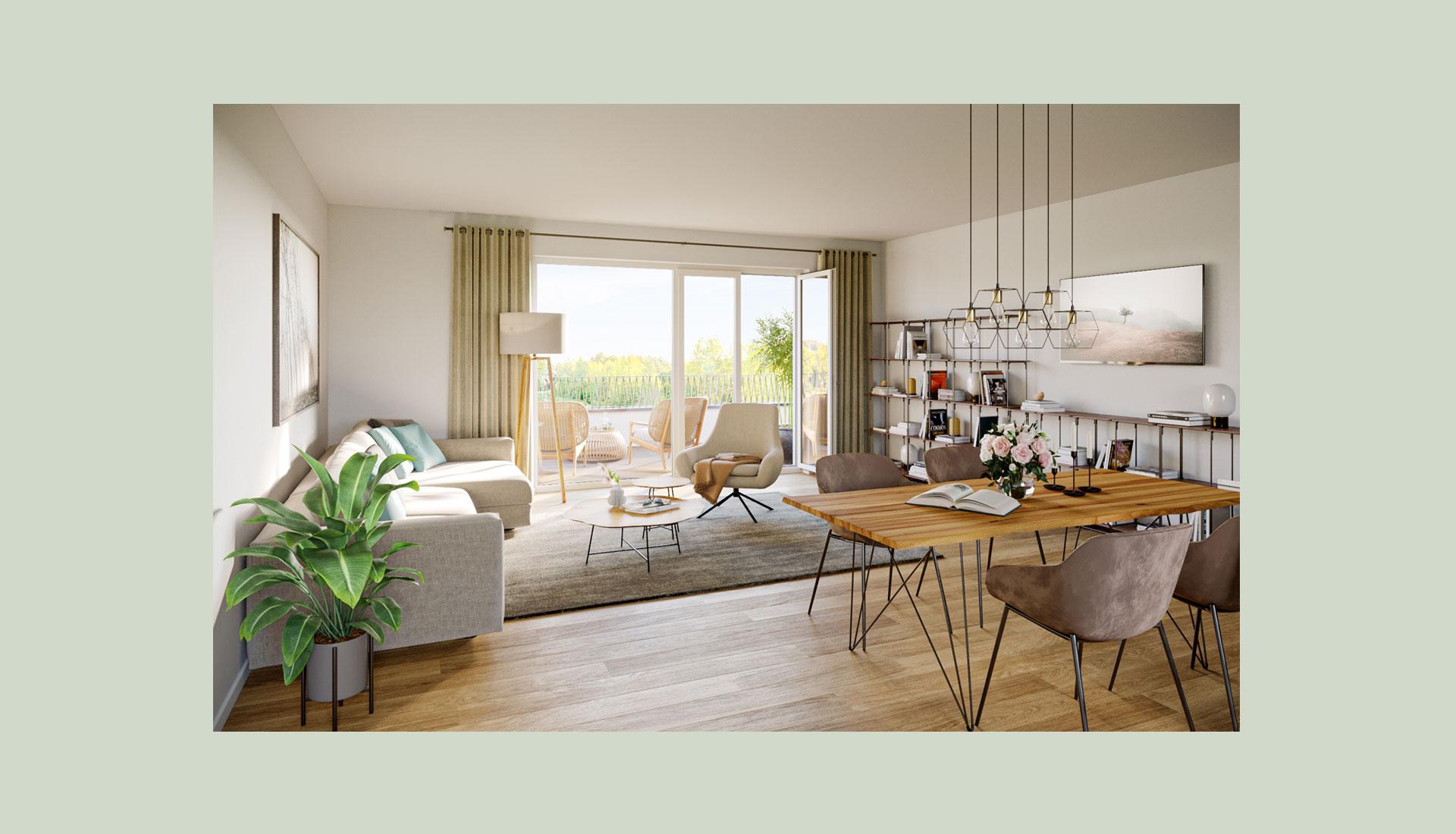 OPUS Marketing / Benker 4 / Immobilienvisualisierung